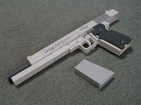 Hellsing Arms Casull Gun Papercraft