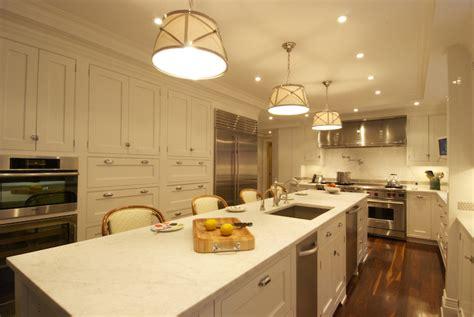 double dishwashers transitional kitchen