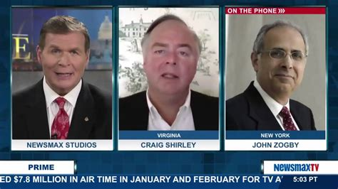 Shirley Banister Affairs by Newsmax Prime Craig Shirley And Zogby Discuss