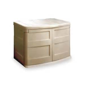 suncast horizontal storage shed 32 cu ft suncast gs2000 30 cu ft taupe durable resin horizontal