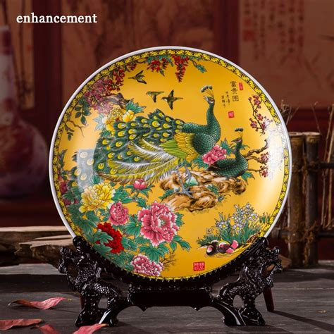 While most people think of plates as a utilitarian piece designed to hold food while eating, decorative plates can be hung on the wall to add texture and interest to a room. Online Buy Wholesale chinese decorative plates from China chinese decorative plates Wholesalers ...