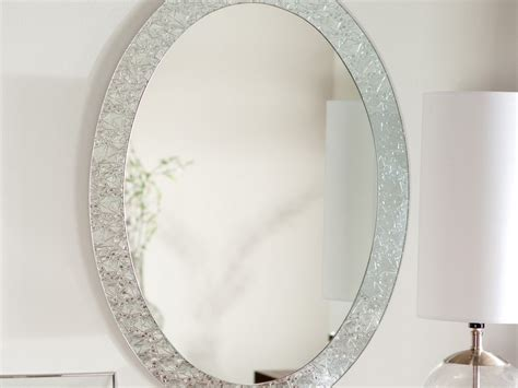 Oval Bathroom Mirror Wide