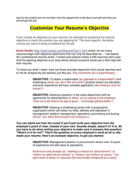 what is an objective for a resume lukex co