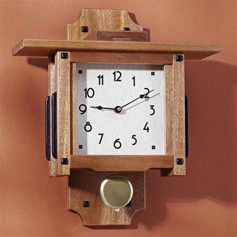 greene greene wall clock woodworking plan  wood magazine