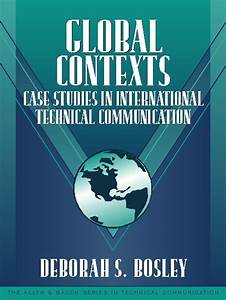 Global Contexts  Case Studies In International Technical