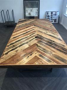 Custom, Reclaimed, Wood, Conference, Table, By, A, M, Abbott, Designs