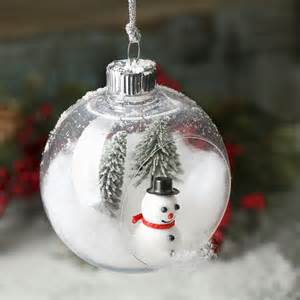 plastic open christmas ball ornament christmas ornaments christmas and winter holiday crafts