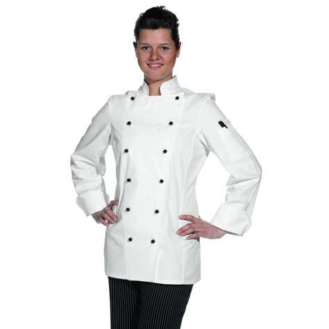 veste cuisine femme manche courte veste de cuisine femme manches longues cintrée coton sergé