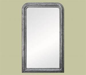 Grand Miroir Rectangulaire : grand miroir chemin e d co argent patin miroir d coration ~ Preciouscoupons.com Idées de Décoration