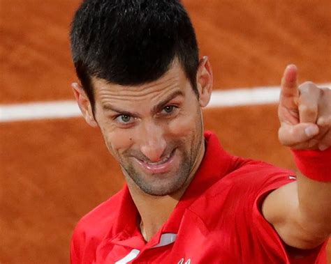 Novak Djokovic escapes to set up French Open final against ...