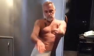 Italian millionaire Gianluca Vacchi dances in his pants
