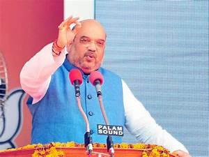 Amit Shah to address BJP's adivasi yatra at Ambaji ...
