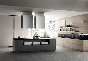 chaise pour ilot cuisine cuisine equipee ilot centrale 13 With cuisine ilot centrale design