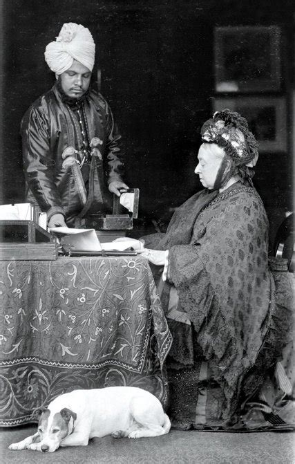 empress  india met  muslim teacher