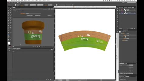 conical pint glass wrap template warp artwork on conical labels with studio youtube