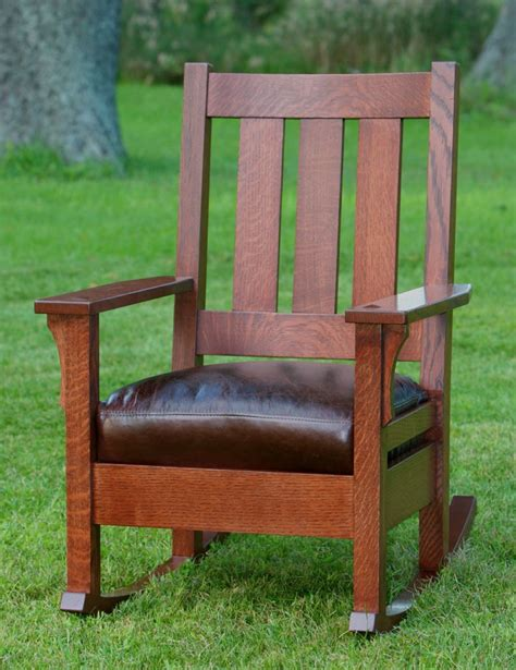 Stickley Upholstered Rocking Chair by Child S Mission Style Rocking Chair Plans Woodworking