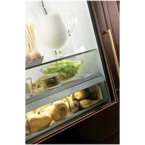 monogram  cu ft bottom freezer built  refrigerator  pacific sales