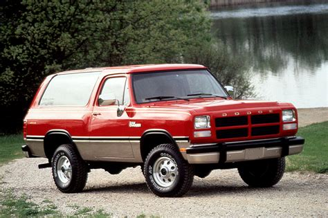 dodge ramcharger consumer guide auto