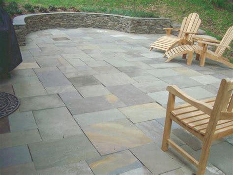 laid bluestone patio dry laid flagstone patio outdoor space pinterest
