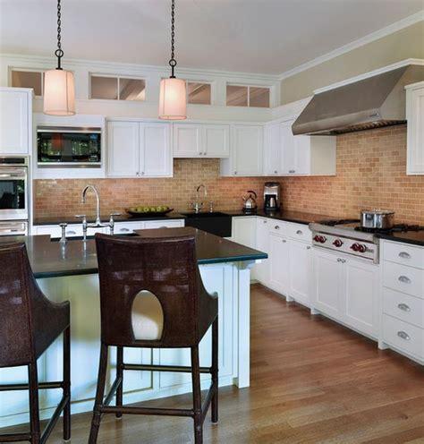 Brick Backsplashes For Kitchens by Kitchen Brick Backsplashes For Warm And Inviting Cooking