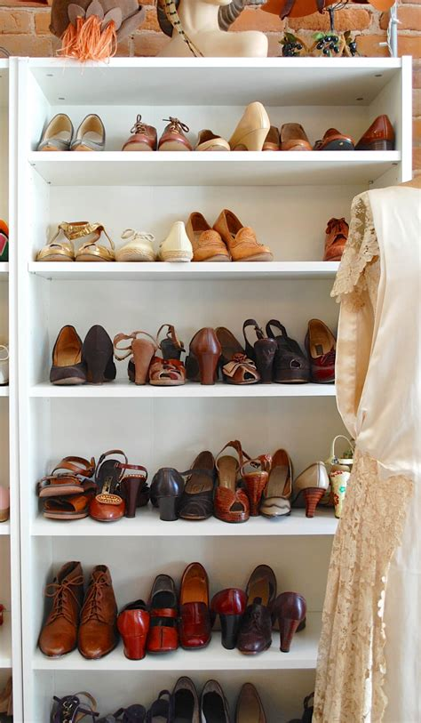 Shoe Storage Bookcase by Closet Inspiration Use Ikea S Billy Bookcase To Mimic