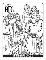 Bfg Coloring Colouring Pages Sheets Printable Giants Disney Printables Aprilgolightly Activities Cool Adult Swing Roald Dahl Dream Having sketch template