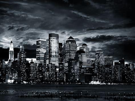 black  white city wallpaper  wallpapersafari