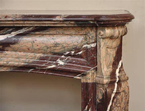 rideau de cheminee ancienne chemin 233 e ancienne de style louis xv en marbre de can ruban 233 marbre
