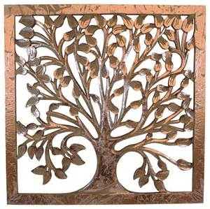 tree of life wooden wall art transitional novelty