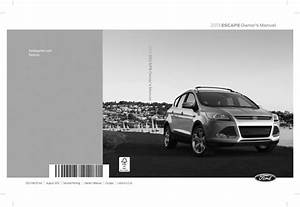 Ford 2013 Escape Operators Owners User Guide Manual