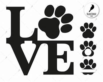 Svg Cat Paw Clipart Dog