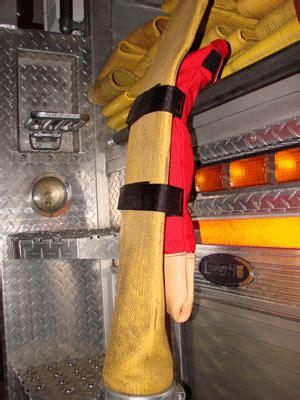 firefighter hydrant tool bag black wm triple yellow refl