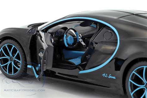Bugatti divo to be made in a limited series of only 40 vehicles. Bugatti Chiron World Record Car #42 J.-P. Montoya black - 31514BK, EAN 090159078388