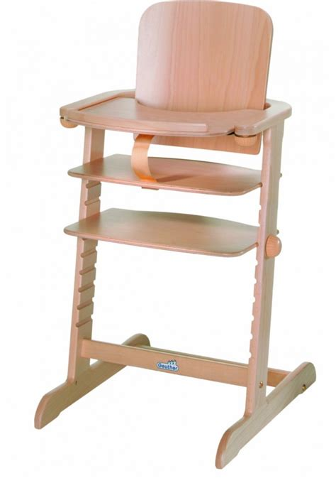 chaise haute évolutive bois geuther family highchair