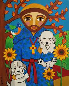 St. Francis of Assisi and Dogs