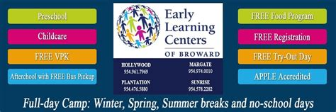 elc broward best preschool broward free vpk free food 215 | elc banner