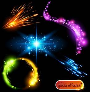 Rainbow light emitting diodes free vector 8 275