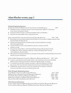 adam haecker resume With resume writing services st paul mn