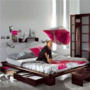 Lit ado lit et mobilier chambre ado lit pour adolescent for Tapis chambre ado avec lit futon une place