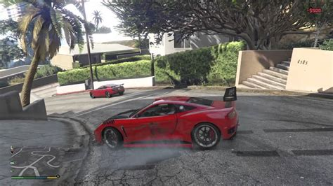 Gta V / 5 Ps4 Funny Gameplay And Drifting With Cheat Code