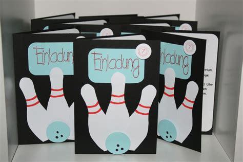 einladungskarten kindergeburtstag bowling ausdrucken