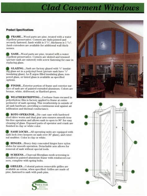 identifying  measuring shelter windows