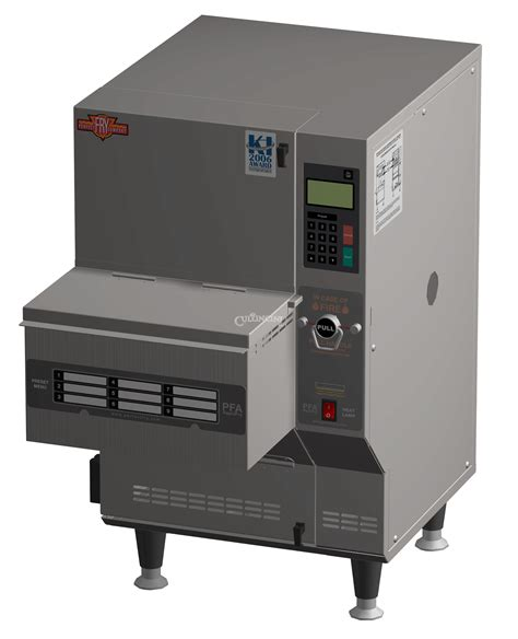Countertop Fryers by Fry Pfa5708 Fully Automatic Ventless Countertop