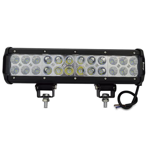 6 led light bar 1pcs led light bar 72w flood spot beam 72w led work light