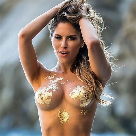 Brittney Palmer Topless For Fitness Gurls Photoshoot