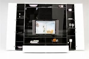 Home Design : Contemporary Office Wall Units Regarding ...