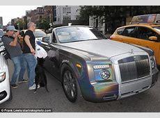 50 Cent cruises around NYC in custom RollsRoyce Daily