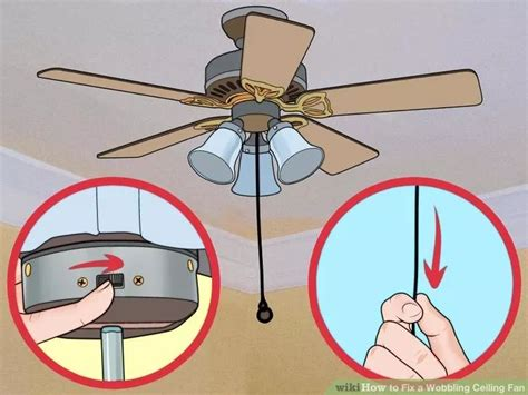 Wobbling Ceiling Fan Dangerous by Fix A Wobbling Ceiling Fan Ceiling Fans Ceilings And Fans