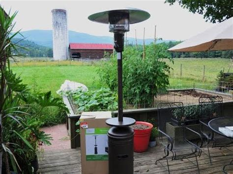 mainstays patio heater assembly mainstays patio heater assembly review