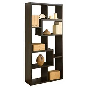 unique bookcases hokku designs mindy 71 quot unique bookcase reviews wayfair
